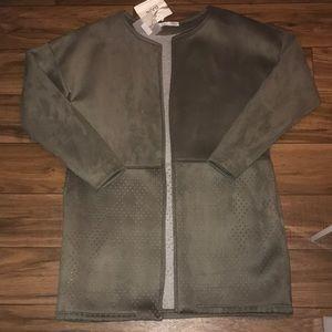 New army green box jacket